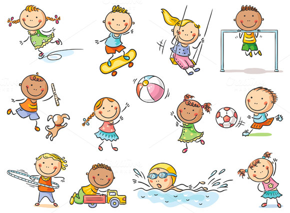 sportove hry deti