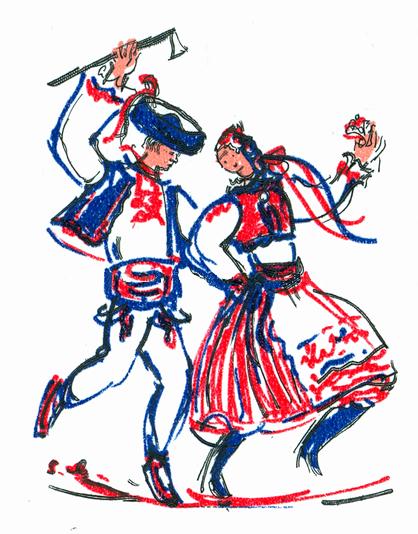 vystupenie folklorik