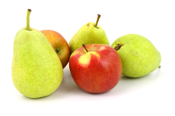 jablka a hruzky