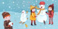 stavanie snehuliakov